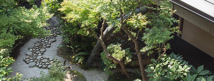 ターミナル京都の奥庭・坪庭
